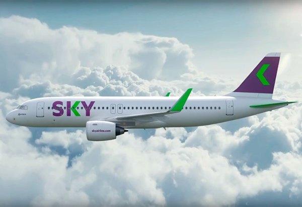 Nuevo destino de SKY