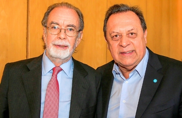 Javier González Fraga y Gustavo Santos