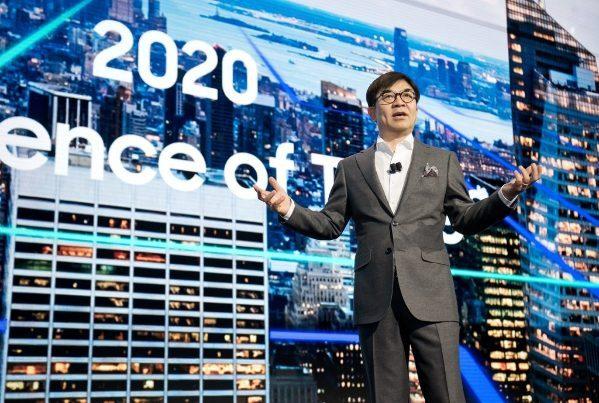 Samsung en CES 2018
