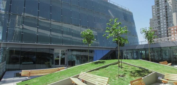 Edificio sustentable del Galicia