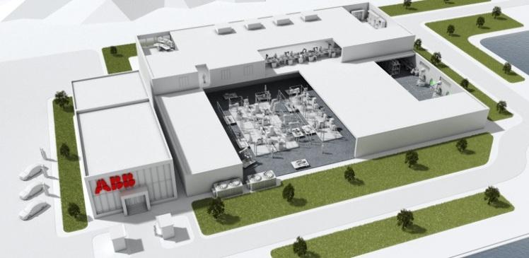 Fábrica de robótica de ABB