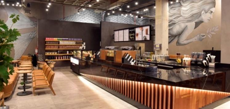 Corte de cintas de Starbucks