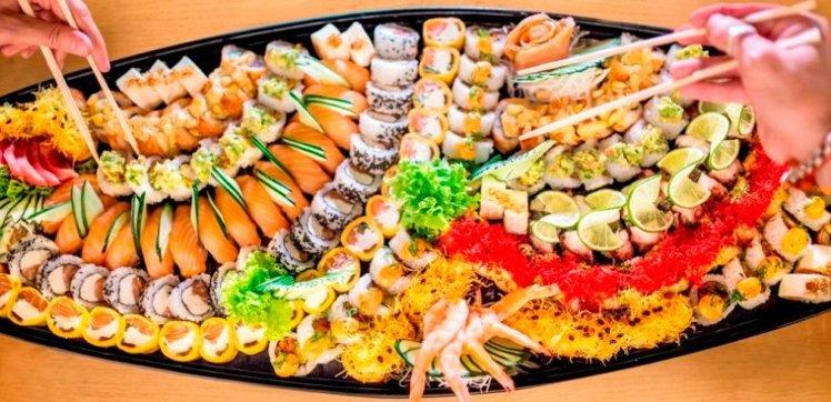 Fiesta y Sushi