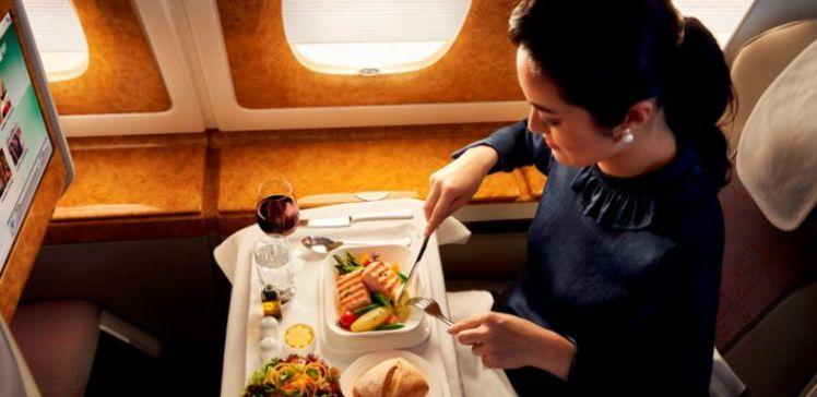 Emirates, la gastronomía y los vinos