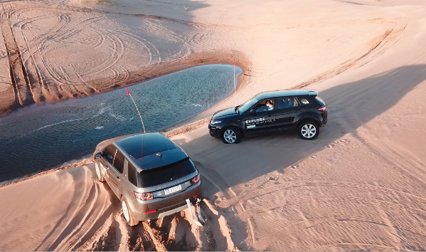 Test drives en las dunas