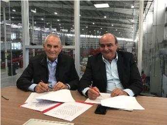 Oscar Andreani y Daniel Carriquiry