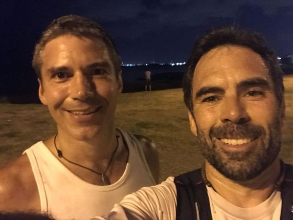 25 km con amigos