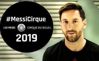 Messi y el Cirque du Soleil