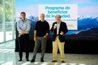 Santilli, Rodriguez Larreta y Ortiz Batalla