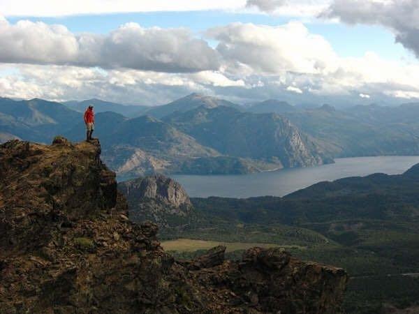 Parte del sendero de Patagonia Run MH, cima del colorado, aventura pura