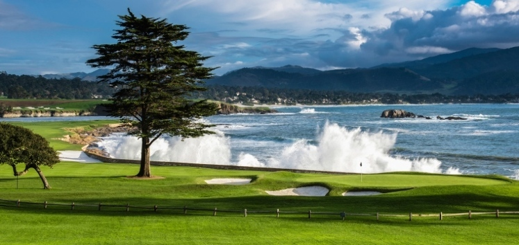 Golf en Pebble Beach