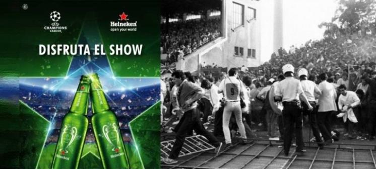 Estadio de Heysel en Bélgica