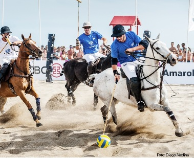 El Polo y la arena