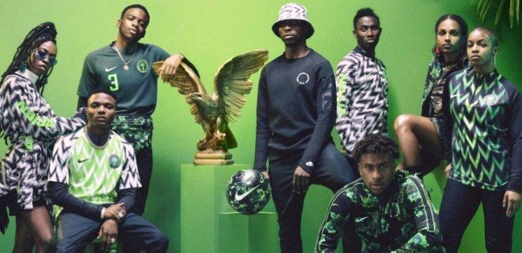El uniforme de Nigeria