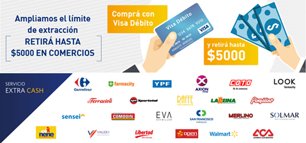 Visa Extra Cash