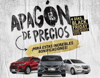 El Black Friday de Chevrolet