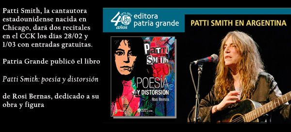 Rosi Bernas, Patti Smith