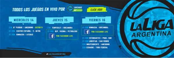 Básquetbol de Argentina y Facebook