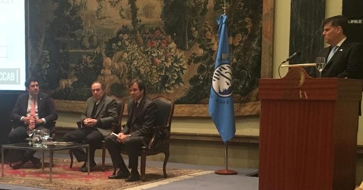 Conferencia en la Bolsa de Comercio de Buenos Aires