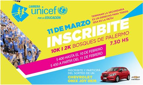 Carrera UNICEF por la Educación