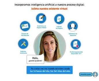 Julieta Bot, la asistente virtual de eColón