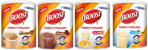BOOST de Nestlé