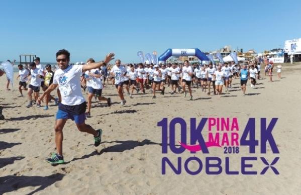 Carrera 10K en Pinamar