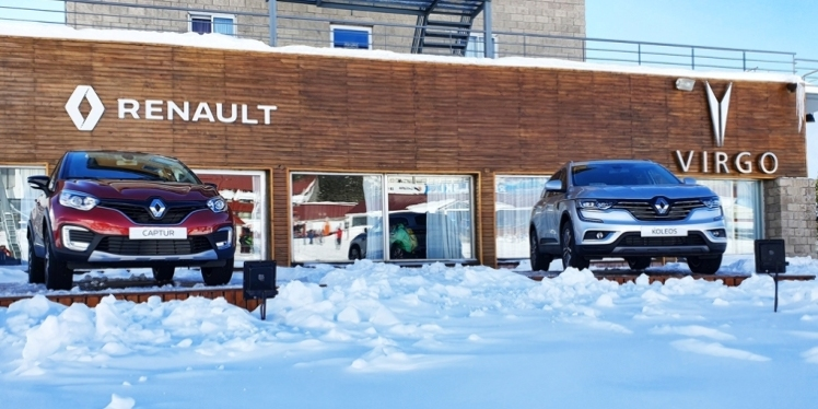 Autos y nieve