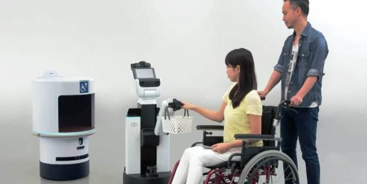 Toyota Human Support Robot HSR/DSR