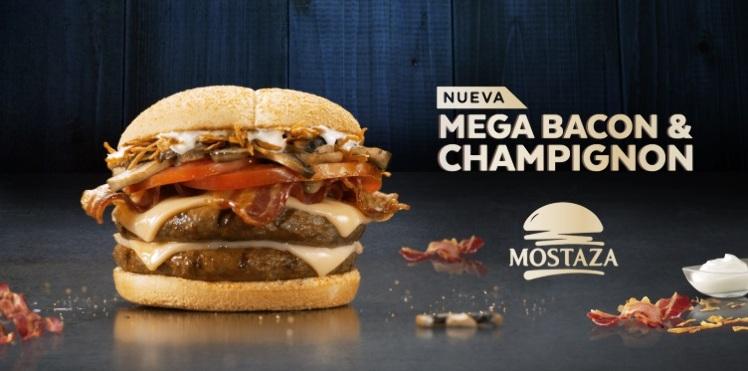 Mega Bacon & Champignon