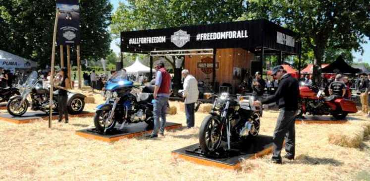 Harley-Davidson dice presente