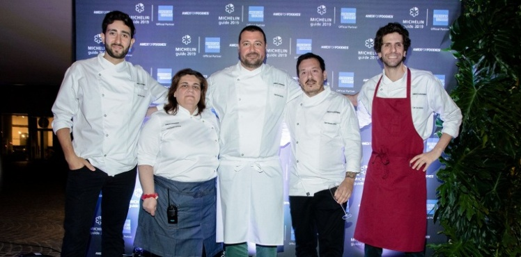 Chefs de Argentina y Brasil