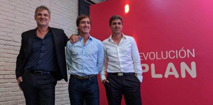 Pablo Saubidet, Daniel Nofal y Damian Maldini