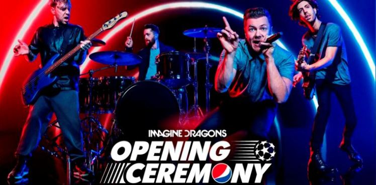 Imagine Dragons en la Champions