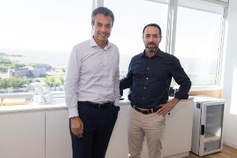 Marcos Galperin y Carlo Enrico