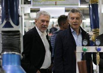 Macri junto a Cherñajovsky