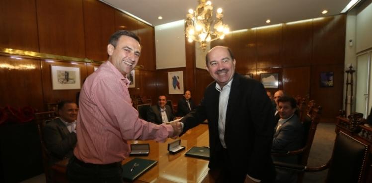 Ramón Mestre y Javier Ortiz Batalla