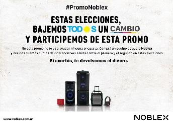 Nueva acción de Noblex