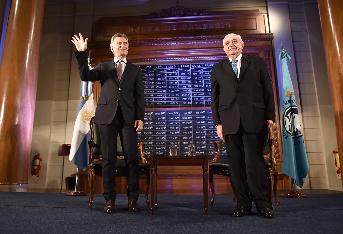 Mauricio Macri y Adelmo Gabbi