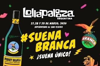 Fernet Branca en el Lollapalooza