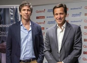 Nicolás Obejero y Germán Ghisoni