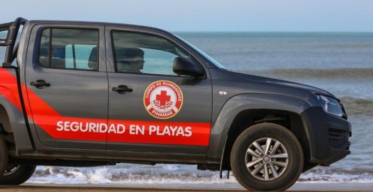 Pick up oficial de la Seguridad de Playas