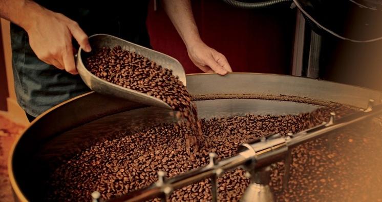 Dos opciones de granos de café para elegir