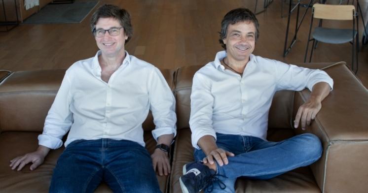 Antonio Migliore y Marcos Detry