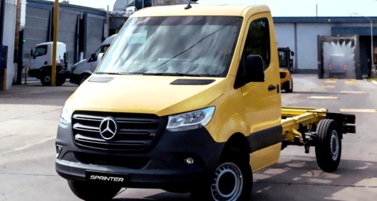 La Sprinter de Mercedes
