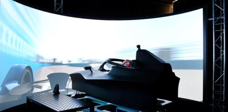 Simulador de BMW Motorsport