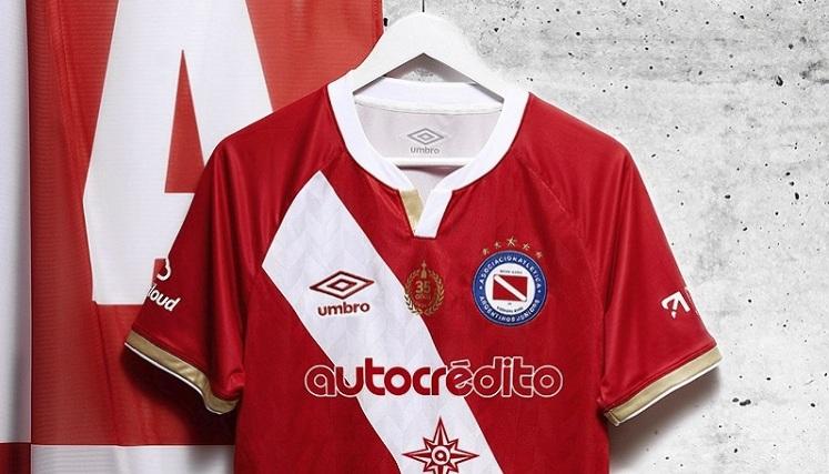 Nueva casaca de Argentinos Juniors