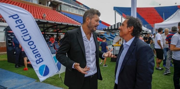 Marcelo Tinelli y Fernando Elías