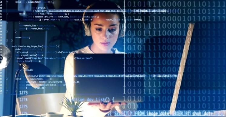Mujeres blockchain con espíritu colaborativo