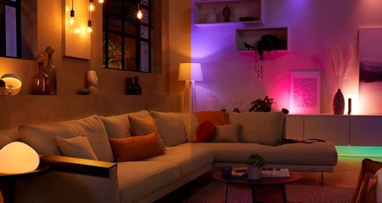 Iluminación inteligente para una decoración vintage